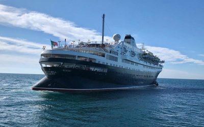 Zarpa desde Sonora, el primer crucero