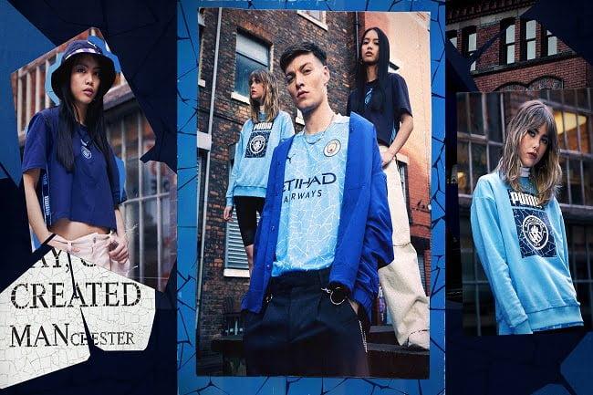 Nuevos kit de Manchester City Home & Away