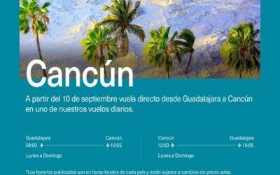 Lanza Aeroméxico dos nuevas rutas desde GDL