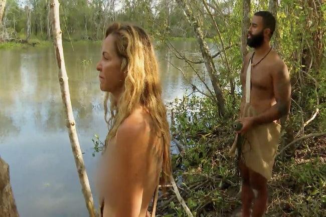 "Supervivencia al desnudo ""extremo"""