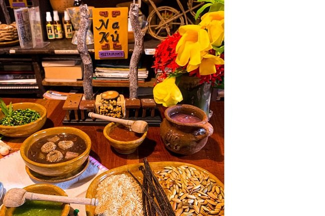 La gastronomía del restaurante Nakú