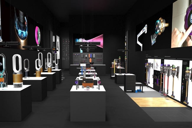 Dyson Demo Store en Latinoamérica